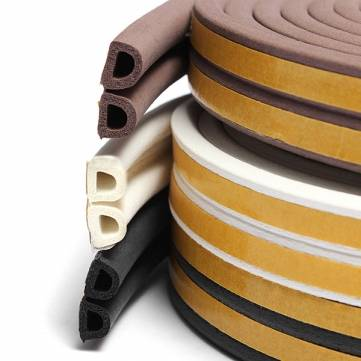 adhesive rubber seal strip